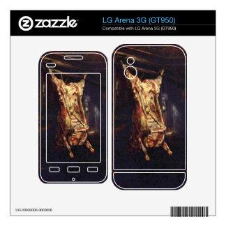 Slaughtered Ox by Rembrandt Harmenszoon van Rijn LG Arena 3G Decals
