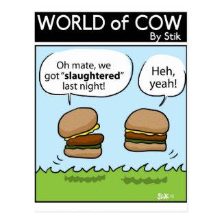 Slaughtered Postcard