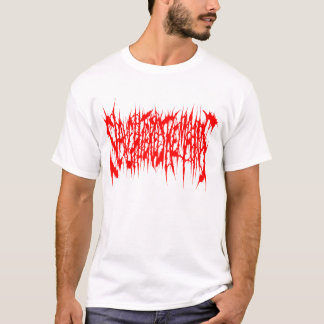 Slaughtered Remains - Mens Red Logo T-Shirt