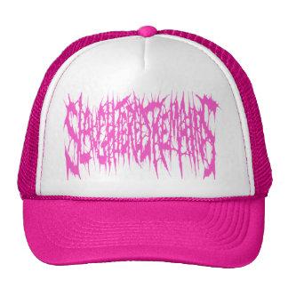 Slaughtered Remains - Pink Logo Trucker Hat