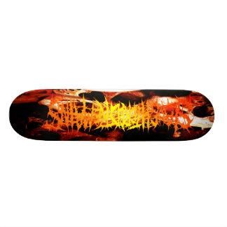 Slaughtered Remains - Skulls & Logo Pro Skateboard