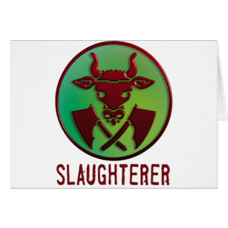 slaughterer symbols card