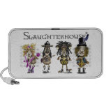 SLAUGHTERHOUSE a Heavy Metal rock band of sheep iPod Speakers