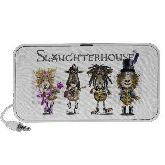 SLAUGHTERHOUSE a Heavy Metal rock band of sheep Speakers