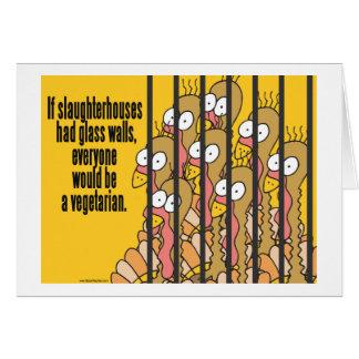 Slaughterhouses - Vegetarian, Vegan Card