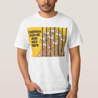 Slaughterhouses - Vegetarian, Vegan T-Shirt
