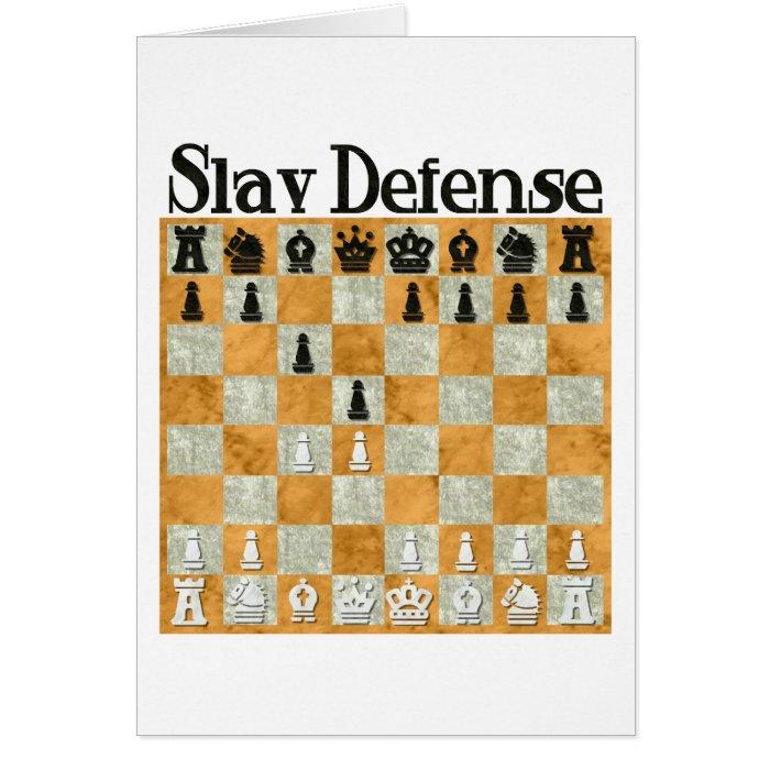 Slav Defense Card