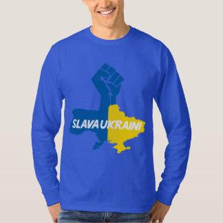 ¡Slava Ukraini! camiseta de la solidaridad Remera