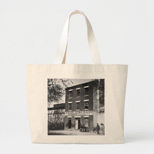 Slave Dealers, 1860s Large Tote Bag