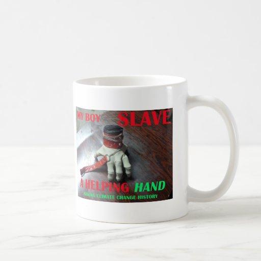 SLAVE HELPING HAND COFFEE MUG