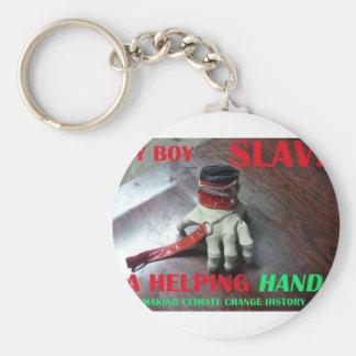 SLAVE HELPING HAND KEYCHAIN