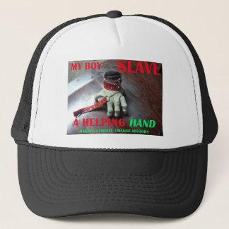 SLAVE HELPING HAND TRUCKER HAT