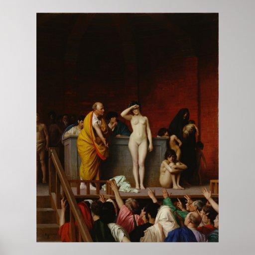 Slave Market In Rome Print Zazzle