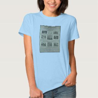 SLAVE MARKET OF AMERICA 1836 Broadside T Shirt