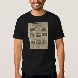 SLAVE MARKET OF AMERICA 1836 Broadside T Shirts