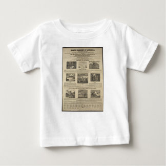 SLAVE MARKET OF AMERICA 1836 Broadside Tshirts