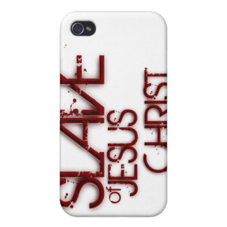 Slave of Jesus Christ iPhone 4 Covers