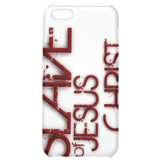 Slave of Jesus Christ iPhone 5C Cover
