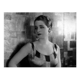 Slave to Fashion, Norma Shearer Vintage Postcard
