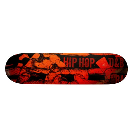 Slave to Hip Hop D&B Skateboard