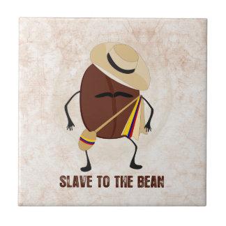 Slave To The Bean Ceramic Tile