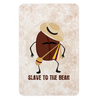 Slave To The Bean Rectangular Photo Magnet