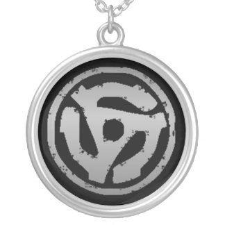 Slave to the Grind Silver Plated Necklace