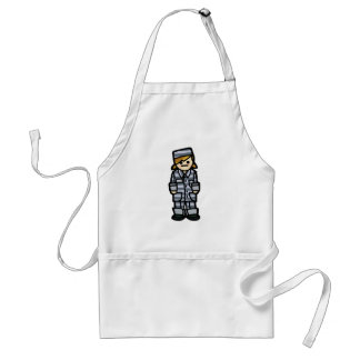slave to the man. adult apron