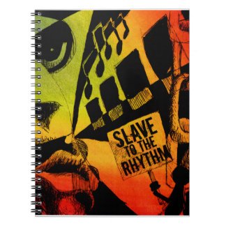 Slave To the Rhythm Spiral Notebook