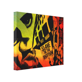 Slave To The Rhythm Wrapped Canvas
