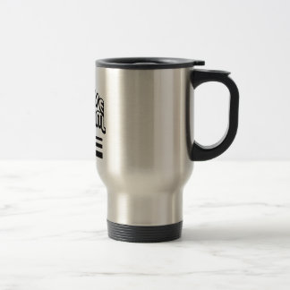 Slave to the System Stainless Steel Travel Mug