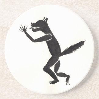 Slavering Werewolf Coaster