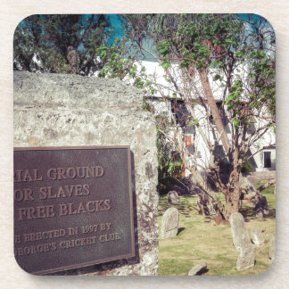 Slaves Burial Ground Coaster