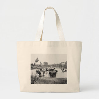 Slaves Fording the Rappahannock, 1862 Tote Bag