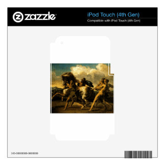 Slaves stopping a horse, study for The Race Decals For iPod Touch 4G