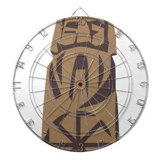 Slavic Pagan Warrior Dartboard