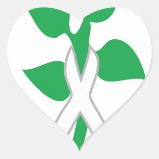 Slavic Spring Heart Heart Sticker