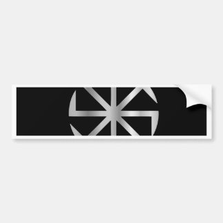 Slavik religion- The Kolovrat symbol Bumper Sticker