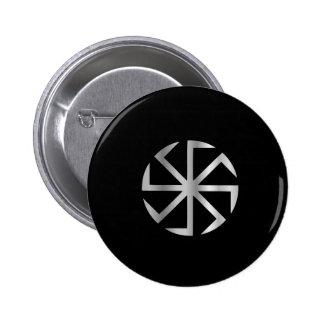 Slavik religion- The Kolovrat symbol Button