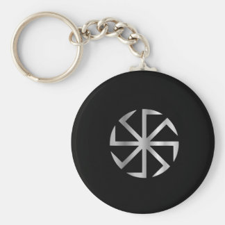Slavik religion- The Kolovrat symbol Keychain