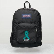 Slay The Beast Ovarian Cancer Awareness Adidas Bac JanSport Backpack