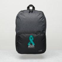 Slay The Beast Ovarian Cancer Awareness Adidas Bac Puma Backpack