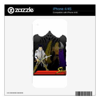 Slay Time iPhone 4 Skins
