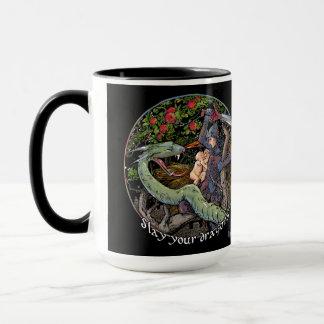 Slay your dragons, Jordan Peterson quotes lessons Mug