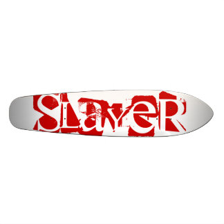 Slayer Fight and Athletics Longboard Deck