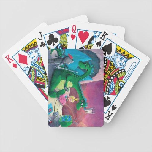 Slaying the dragon (It's hard) Card Deck