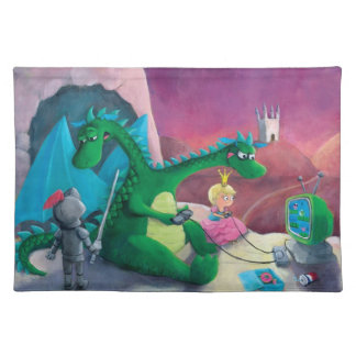 Slaying the dragon (It's hard) Placemats
