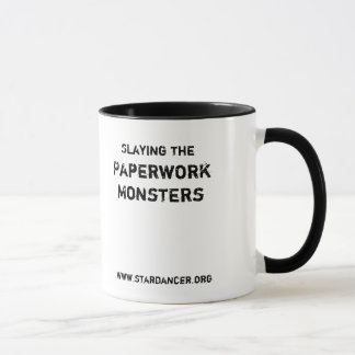 Slaying the Paperwork Monster Mug