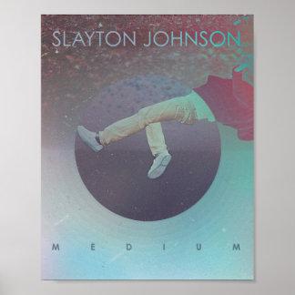 Slayton Johnson - poster medio del álbum