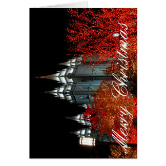 slc temple christmas card